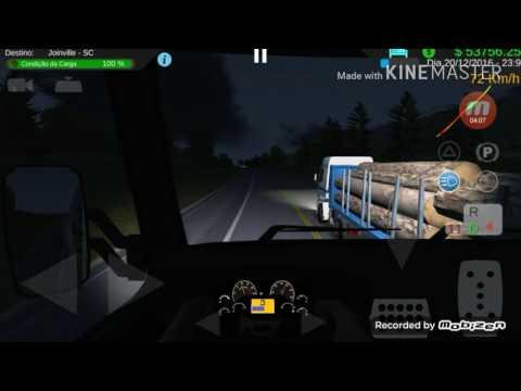 Haevy Truk simulator, bati 3 vezes hahaha, e o pior errei o nome do canal