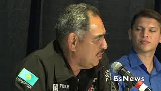 Abel Sanchez What He Seen In Canelo Training At The Summit EsNews Boxing