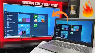 How to Connect Laptop to TV Wireless | Connect PC to TV Wirelessly