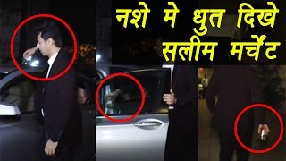 Salim Merchant CAUGHT Drunk at Hrithik Roshan