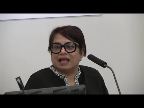 A Conversation with Radhika Coomaraswamy on the Global Study on UN Security Council Resolution 1325