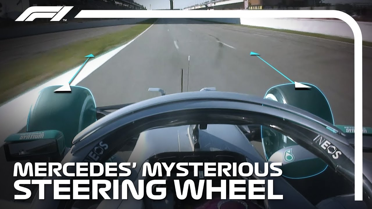 Download Mercedes' Mysterious Steering Wheel Explained | Formula 1 Testing