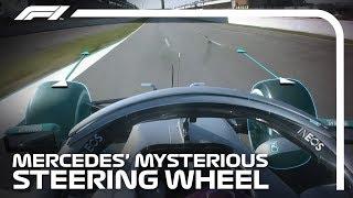 Mercedes' Mysterious Steering Wheel Explained | Formula 1 Testing