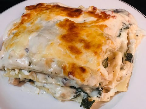 DELICIOUS Chicken Alfredo Lasagna