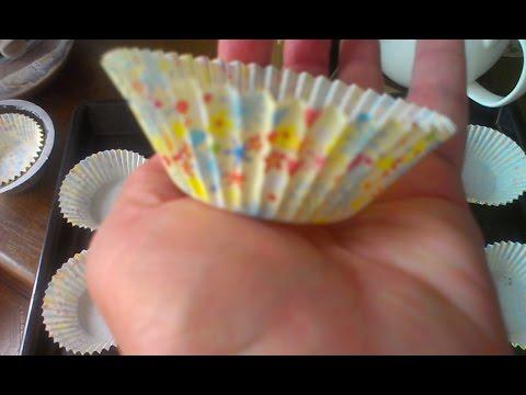 рецепт кекса в бумажных формочках пошагово