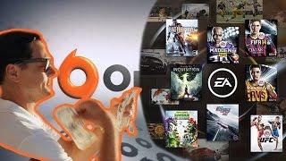 EA ACCESS бесплатные игры в ORIGIN.