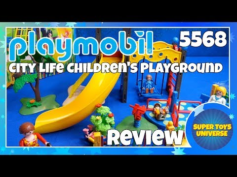 Playmobil City Life Children's Playground 5568 * Dog Walker 5380 * Mother & Child 5368 Review