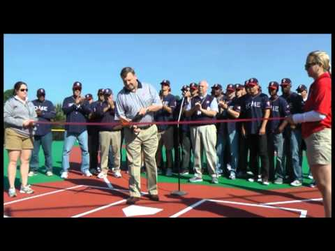 Rome Braves help celebrate Miracle Field opening
