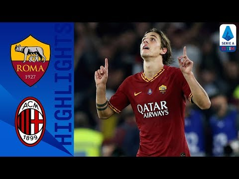 Roma 2-1 Milan | Zaniolo Winner Gives Roma All 3 Points | Serie A
