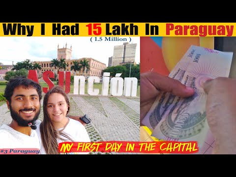 My First Day In Capital of Paraguay With So Much Cash !!! || Asuncion