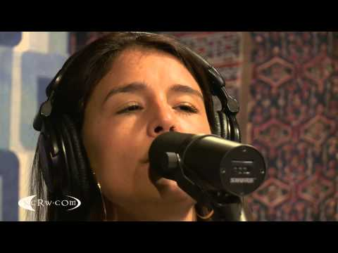 "Jessie Ware performing ""If You're Never Gonna Move"" Live on KCRW"