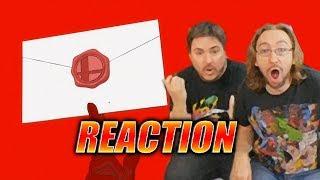 DOODS REACT: Smash Ultimate X Persona 5 - Joker Reveal