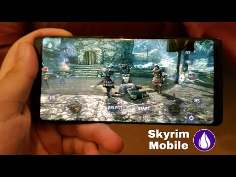 Skyrim Mobile Android Gameplay -  Play Skyrim On Your Phone 2018 (Liquid Sky)