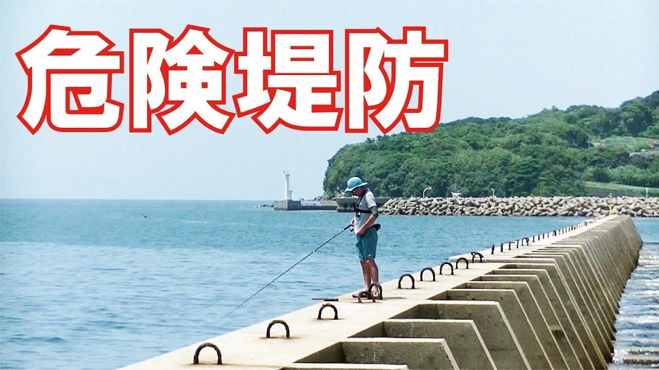 スギ 堤防 釣り 四平