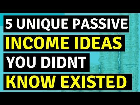 TOP 5 Passive Income Ideas To Make Money Online 🔥🔥🔥