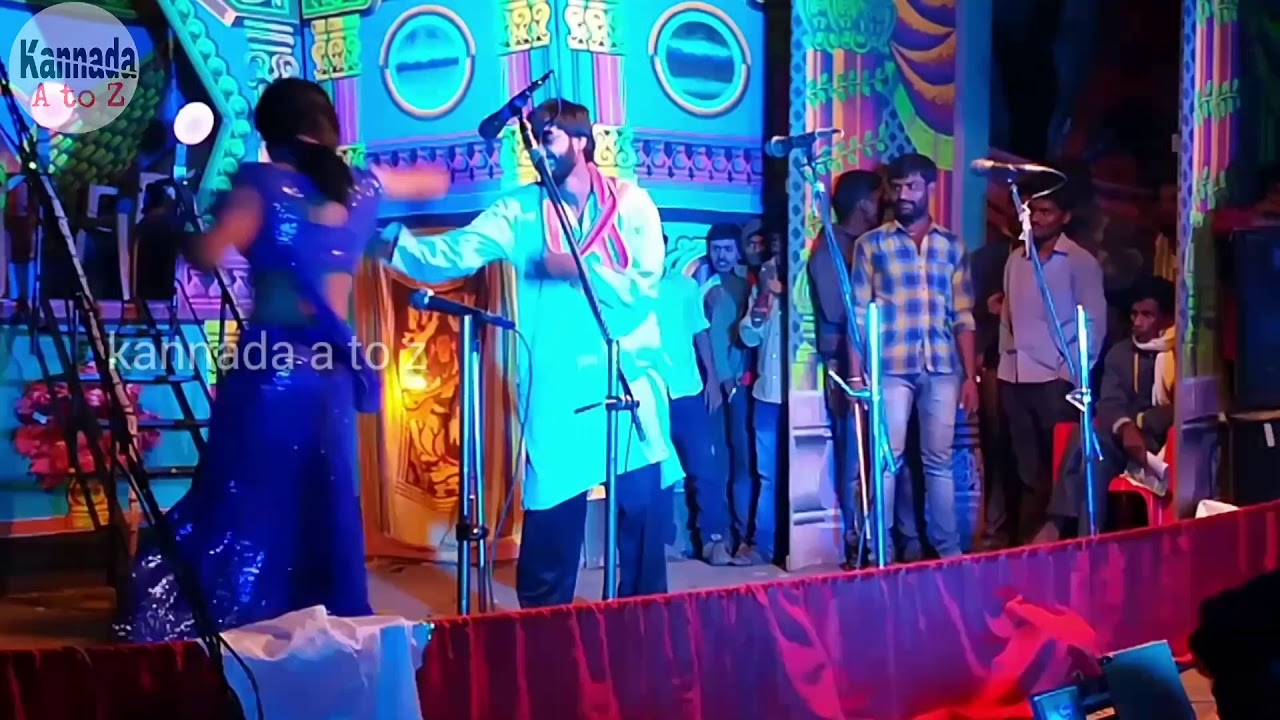 Kannada Natak DJ items song dance