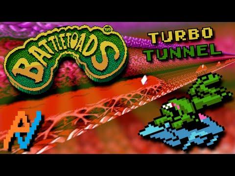 NES Atlas: Battletoads (Turbo Tunnel) [60FPS]