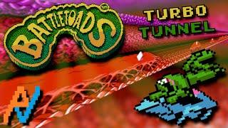 NES Atlas Battletoads Turbo Tunnel 60FPS