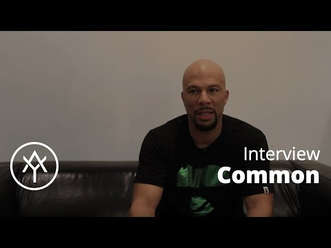"Common | Interview ""Trap Music is the voice of a new generation"""