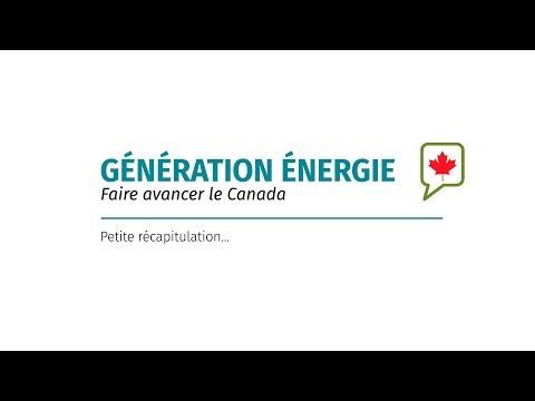 Génération Énergie - petite récapitulation