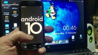 Android 10 for Samsung Galaxy S4 mini i9190 i9192 & i9195  Install Tutorial 2020