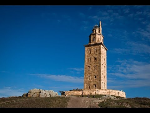 Places to see in ( Galicia - Spain ) Tower of Hercules - Torre de Hercules