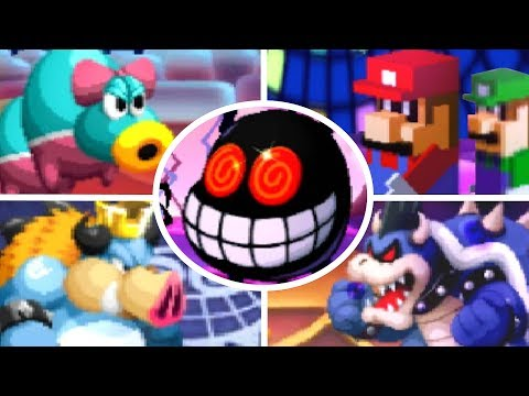All Bosses In Mario And Luigi Bowseru0027s Inside Story Tvaction Info