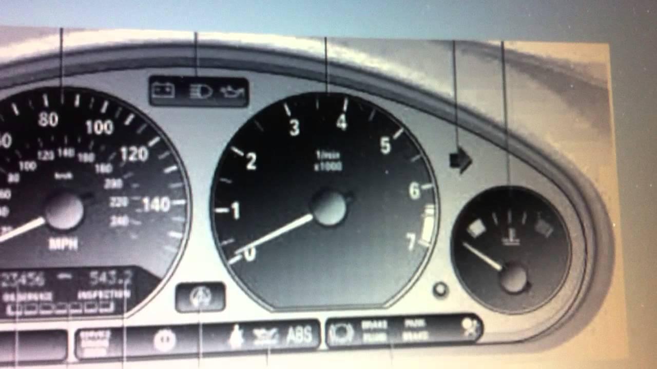 Bmw Z3 Dashboard Warning Lights Amp Symbols Diagnostic