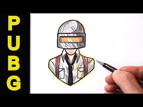 Как нарисовать игрока PUBG поэтапно(Ehedov Elnur)