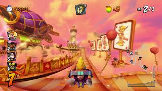 Hot Air Skyway Gameplay - Crash Team Racing Nitro-Fueled | E3 2019
