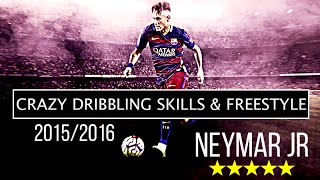 Neymar Jr - Crazy Dribbling skills, Velocity And Freestyle 2015/2016 | HD By ZEyestran