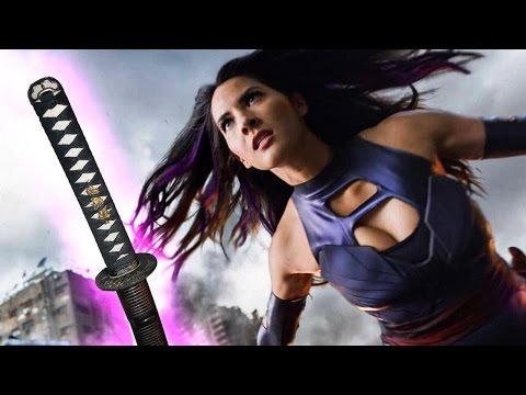 X-Men's Olivia Munn Shows Off Psylocke's Sword Skills!