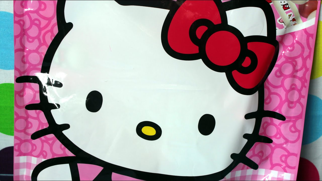 Hello Kitty  Surprise Bag XL  Sweets  Surprises Toy  Colouring