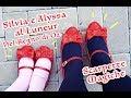 Silvia e Alyssa al Luneur insieme a Dorothy e le Merglie di Oz