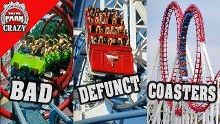 Top 10 Infamous Defunct Roller Coasters