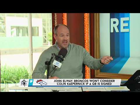 The Voice of REason: Rich Eisen Reacts to John Elway's Misleading Kaepernick Comments