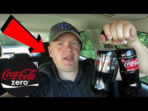 Coke Zero vs Coke Zero Sugar Taste Test