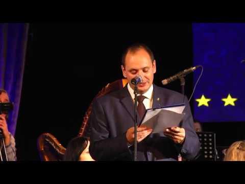 Вручення відзнаки Асамблеї Ради Європи. Офіційна частина