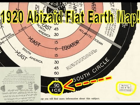 Flat Drop | Worlds Beyond The Poles | Abizaid Flat Earth Map 1920 thumbnail