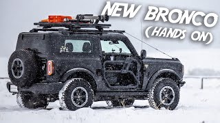 2021 FORD BRONCO - Hands-On First Impressions and Details! (2 door Bronco + Bronco Sport)