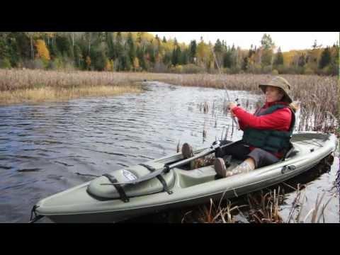 Pelican Castaway 116 Kayak Youtube
