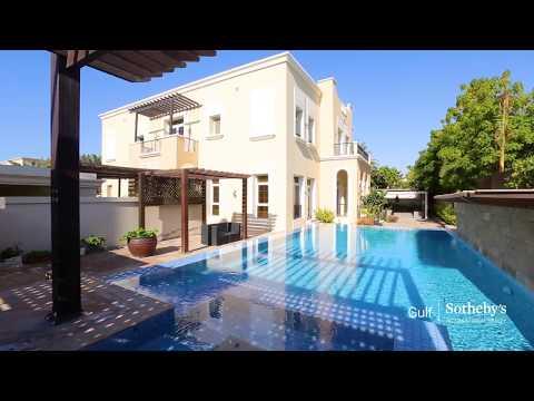 Mediterranean Villa, Emirates Hills, Dubai, UAE   Gulf Sotheby's International Realty