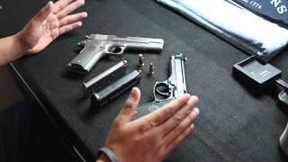 Beretta M9 VS. Colt 1911