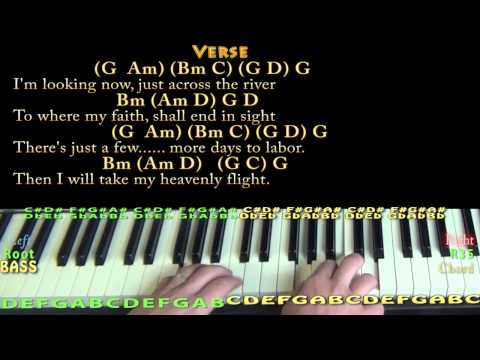 Beulah Land (Squire Parsons) Piano Cover Lesson in G with Chords/Lyrics