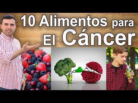 Alimentos Que Destruyen El Cáncer - 10 Comidas Contra El Cáncer