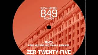 25.1 - Pepe Arcade Rmx - RdZd - Serial Number 849 Records