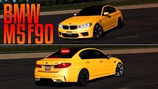 BMW M5 F90 | YAN MAKİNESİ - DRİFT SHOW!!! | ETS 2
