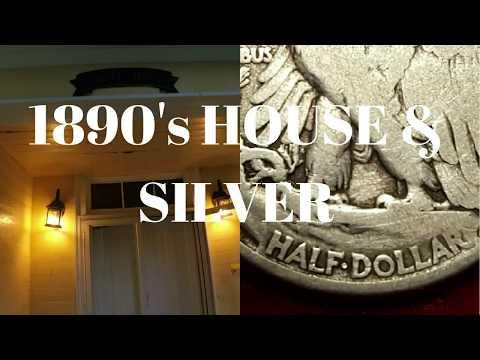 Metal Detecting 1890's House (Silver Slump Broken) #29