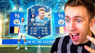 I PACKED TOTS KEVIN DE BRUYNE!! (40+ FIFA TOTS PACK OPENING)