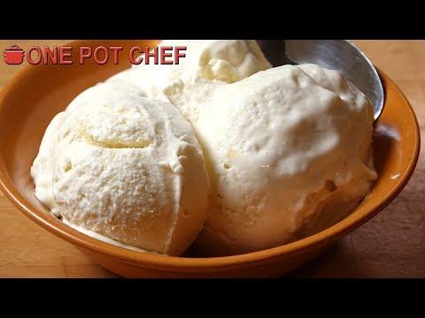 Super Simple Banana Ice Cream | One Pot Chef
